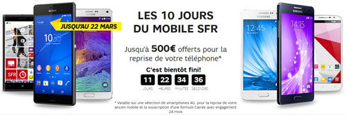 les meilleurs smartphones 4g en promotion pendant 10 jours. Black Bedroom Furniture Sets. Home Design Ideas